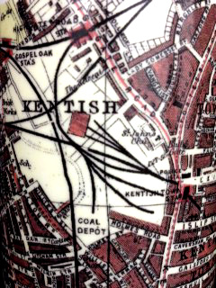 kentish town map